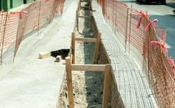 Jet-Grouting for Complex Shoring