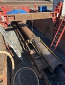 Why Is a steel casing pipe recommended for pipe ramming in the horizontal boring method?