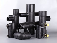 HDPE THERMOFORMED PIPE sanitary sewer