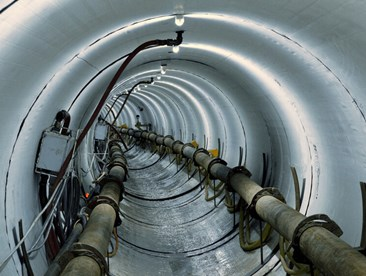 first planned curved microtunnel in the US