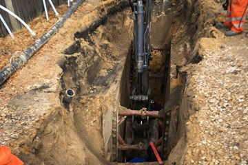 Types of Temporary Shoring for Trenchless Projects