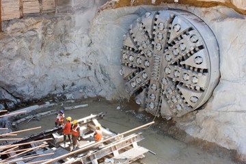 How Tunnel Boring Machines Work